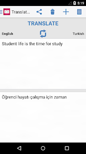 Turkish Dictionary 📖 English - Türk Translator- screenshot thumbnail