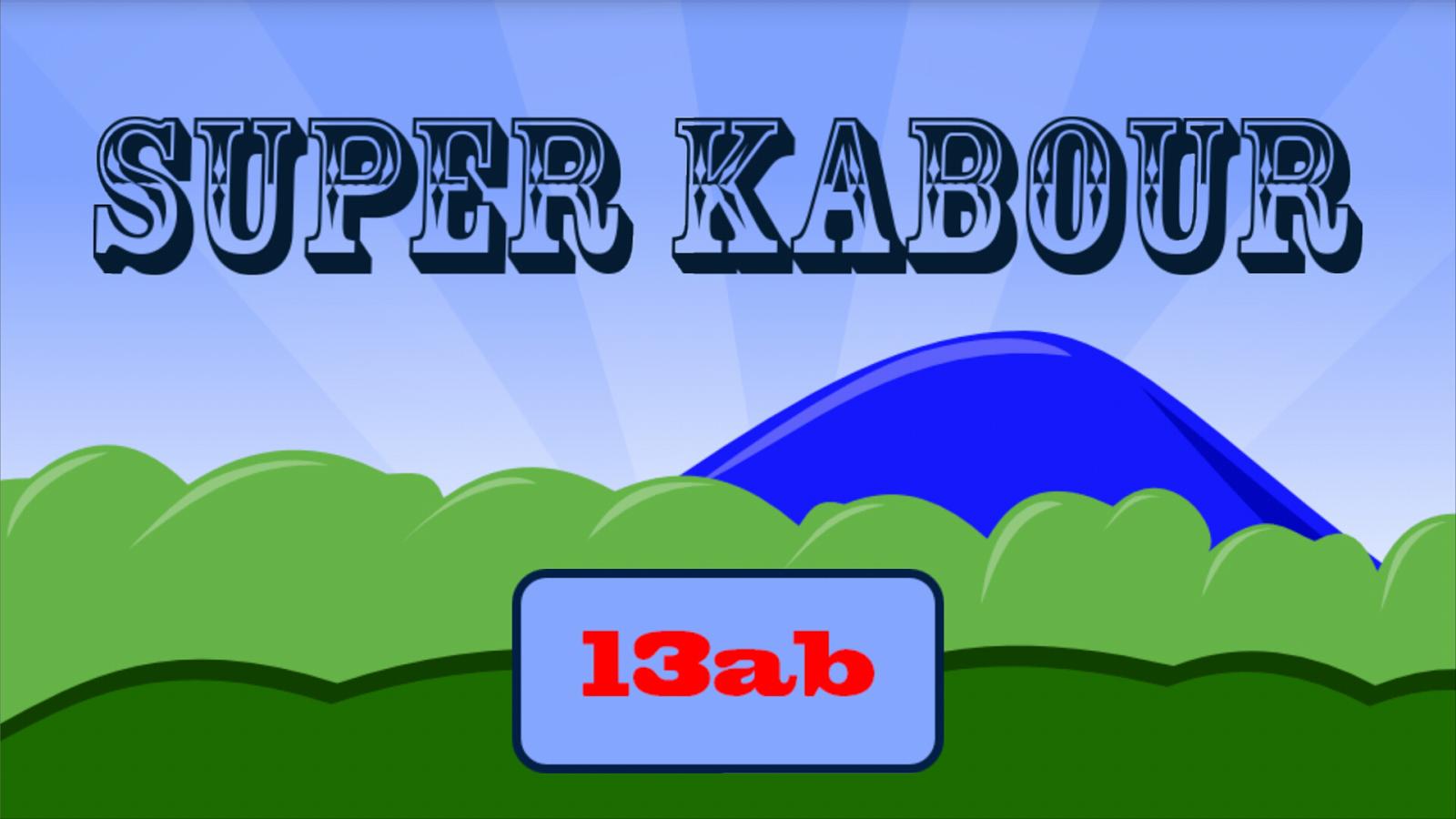 ���� ��������� � ������� super kabour - ���� ����