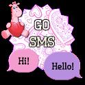 ValentineGiraffe/GO SMS THEME icon