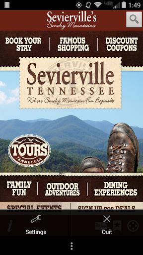 Sevierville's Smoky Mountains