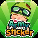 Army Sticker icon