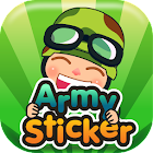 Army Sticker icon
