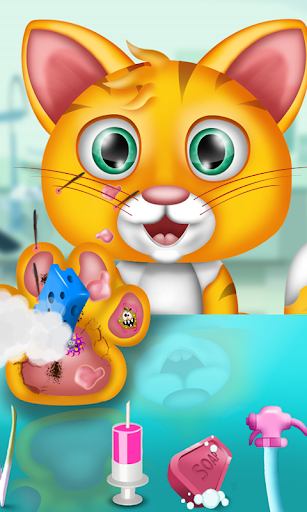 Cat Caring Game - Vet Games