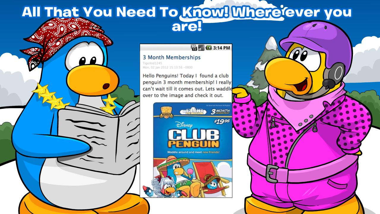 Club Penguin Cheats - screenshot