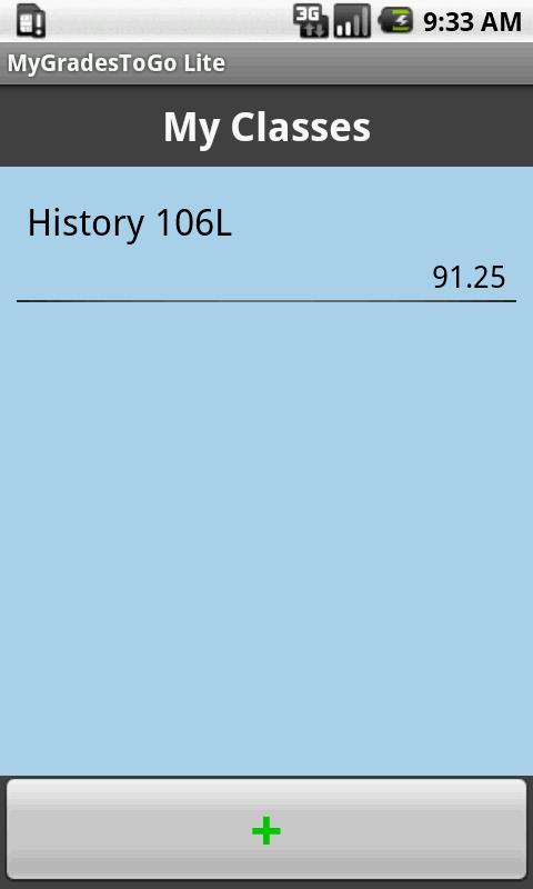 Grade Calculator- screenshot