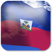 3D Haiti Flag Live Wallpaper +