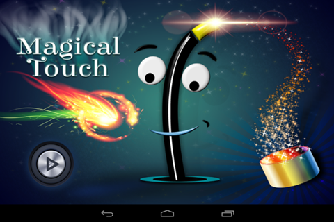 Magical Touch Free Drawing App