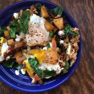 Rutabaga & Beet Breakfast Hash