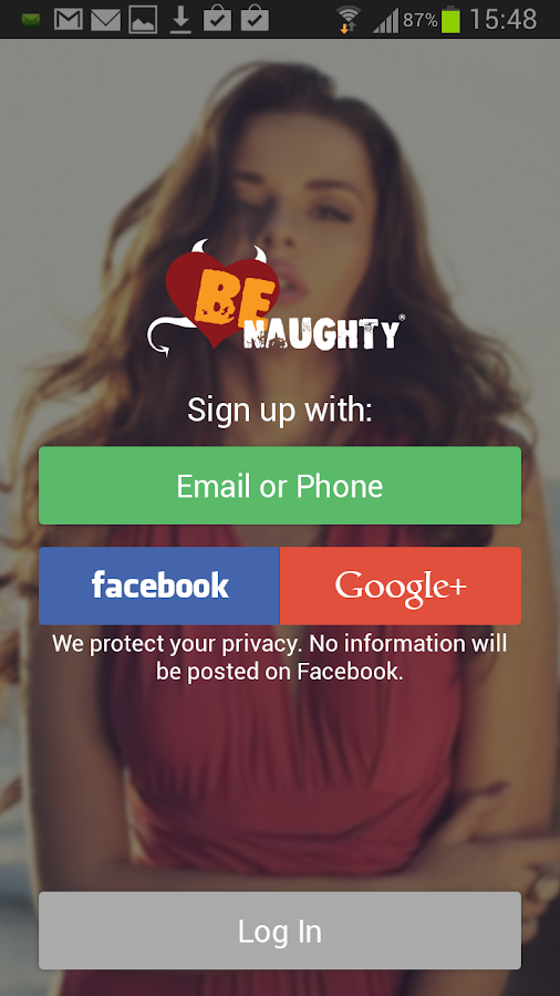 BeNaughty - Online Dating App - screenshot