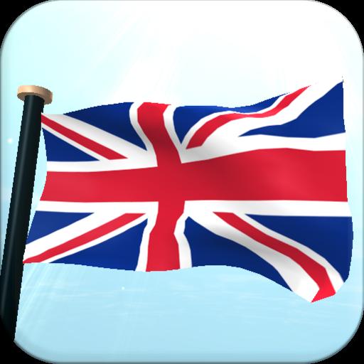 UK Flag 3D Free Live Wallpaper