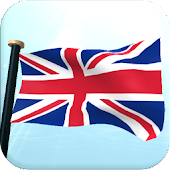 UK Flag 3D Free Live Wallpaper