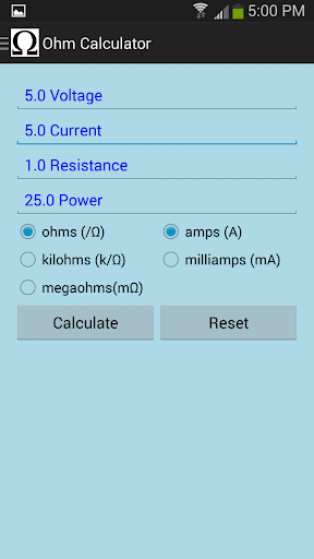 免費下載工具APP|Ohm's Law Calculator app開箱文|APP開箱王