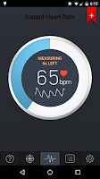 Screenshot of Instant Heart Rate - Pro