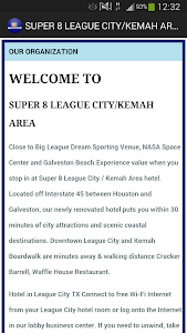 SUPER 8 LEAGUE CITY/KEMAH AREA screenshot 1
