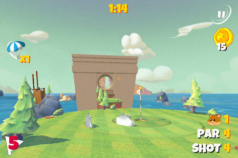 Boom Boom Hamster Golf Screenshot 5