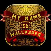 3D My Name Wallpaper