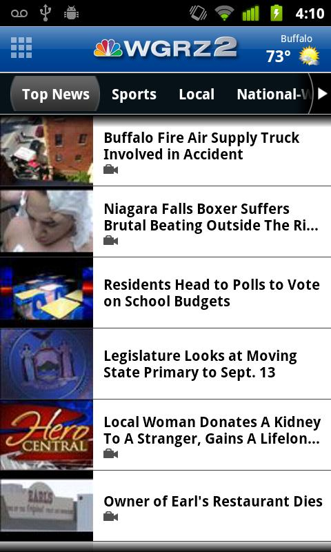 WGRZ - screenshot