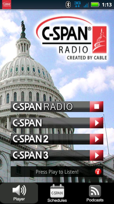 C-SPAN Radio - screenshot