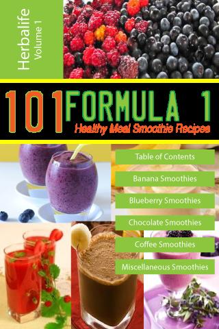101 Formula1 Smoothie Recipes