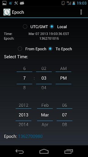Epoch Conversion