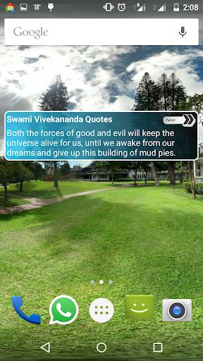 Vivekananda Quotes Widget App
