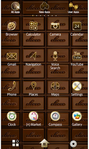 CHOCOLATE BAR Wallpaper Theme 1.5 Windows u7528 3
