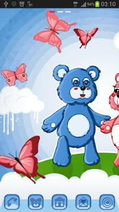 GO Launcher Theme teddy bears - screenshot thumbnail