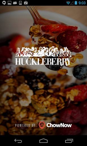 Huckleberry Cafe and Bakery