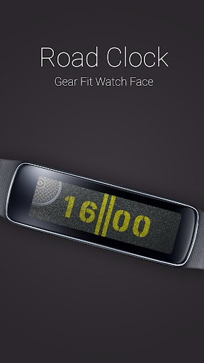 Road Clock for Gear Fit