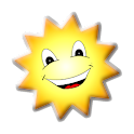 Wake up with the sunrise icon