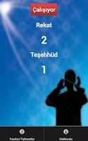 Screenshot of How many rakats