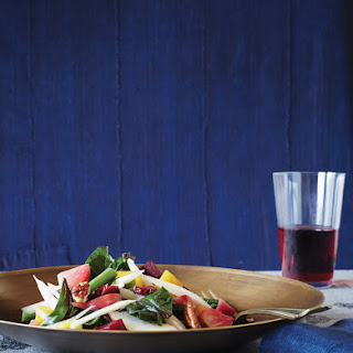 Tricolor Beet Salad with Horseradish Dressing