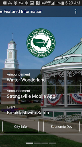 Official Strongsville OH App