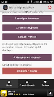 Belajar Hipnotis Lengkap Pro - screenshot thumbnail