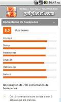 Screenshot of Cheap hotels & hostel finder