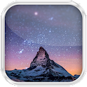 Night Sky Water Effect LWP icon