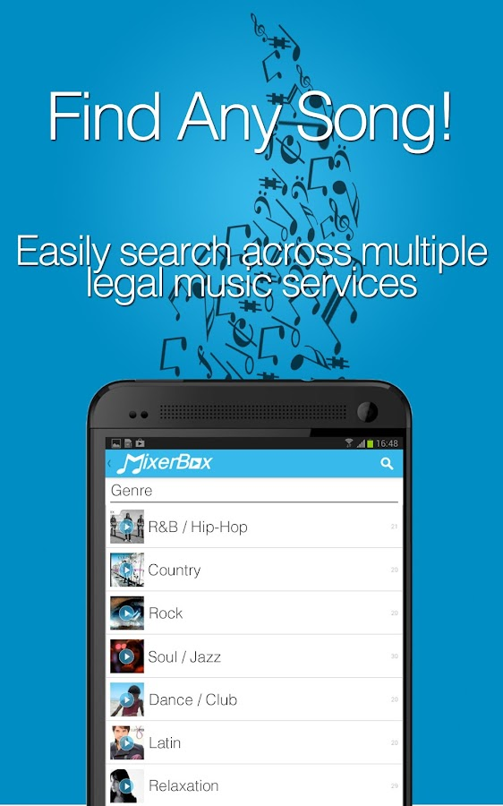 Screenshots of Free Music Player(Download now for Android
