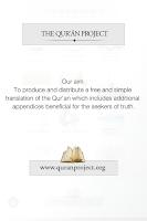 Screenshot of Quran Project