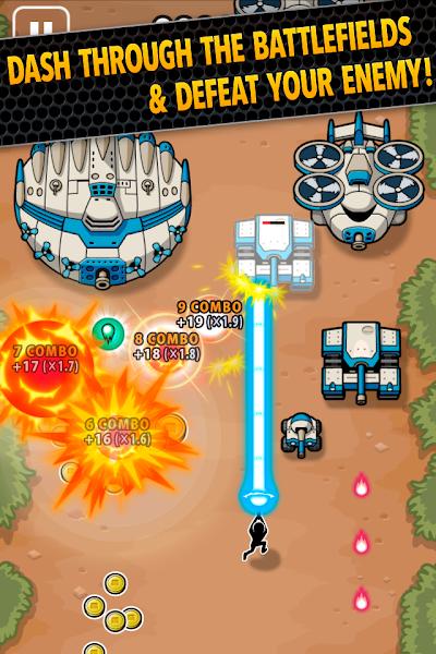 Battlefield Dash v1.0.1 Mod APK