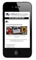 Screenshot of AllState Surveying Mobile