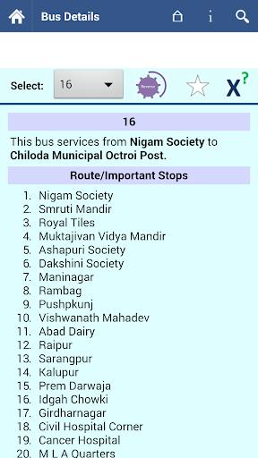 Ahmedabad AMTS Info  screenshots 2