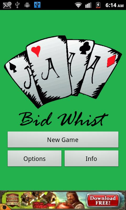 Bid Whist- screenshot