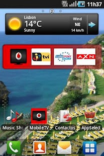 Vodafone Mobile TV- screenshot thumbnail