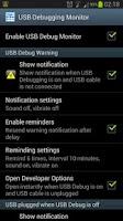 Screenshot of USB Debugging Monitor