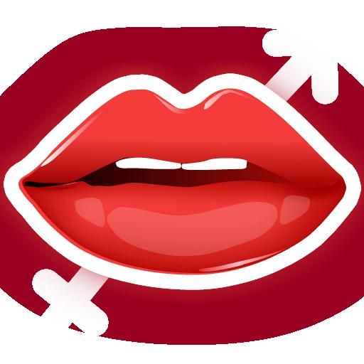 一個吻 - 接吻測試 LOGO-APP點子