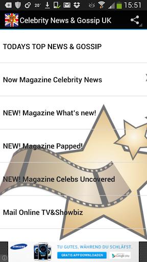 Celebrity News Gossip UK