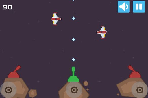 Space Clash -Wars on 2048 Star
