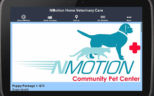 NMotion Home Veterinary Care- screenshot thumbnail