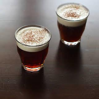 Iced Irish Coffee Drink.