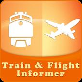 Train+Flight Informer